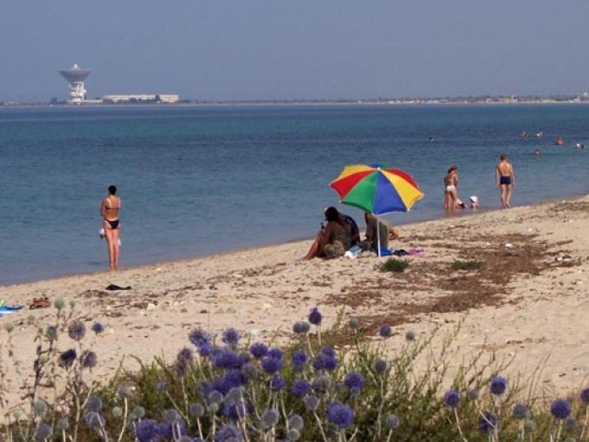 Фото пляжа в витино